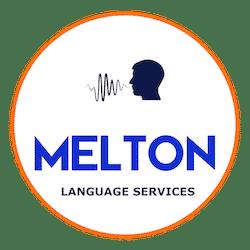 Melton Language Services logo