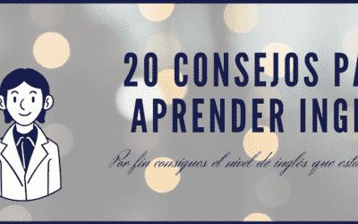 20 Consejos Para Aprender Inglés