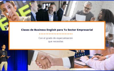Inglés empresarial para profesionales. Cursos específicos para tu sector.